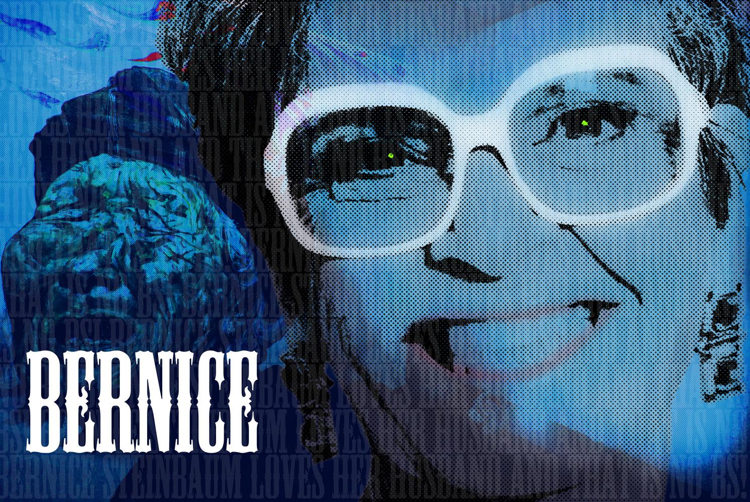 Bernice Blue Poster