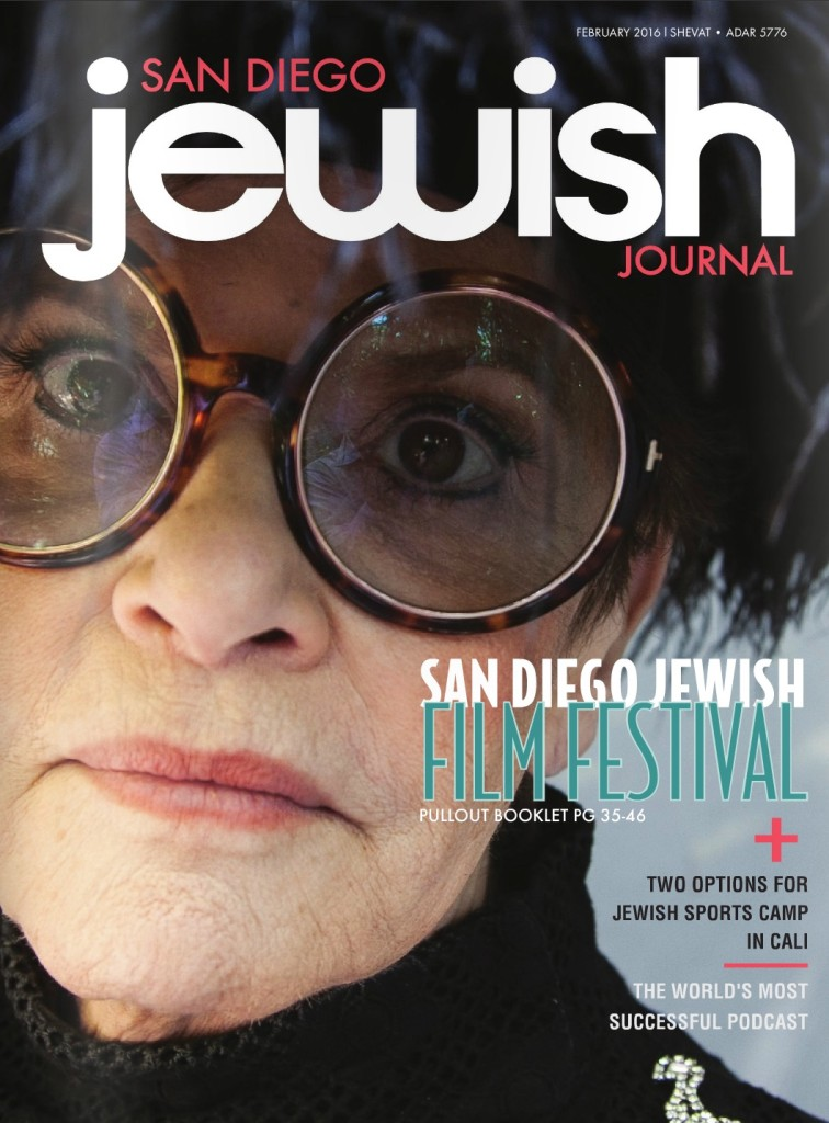 Bernice Makes San Diego Jewish Journal Cover