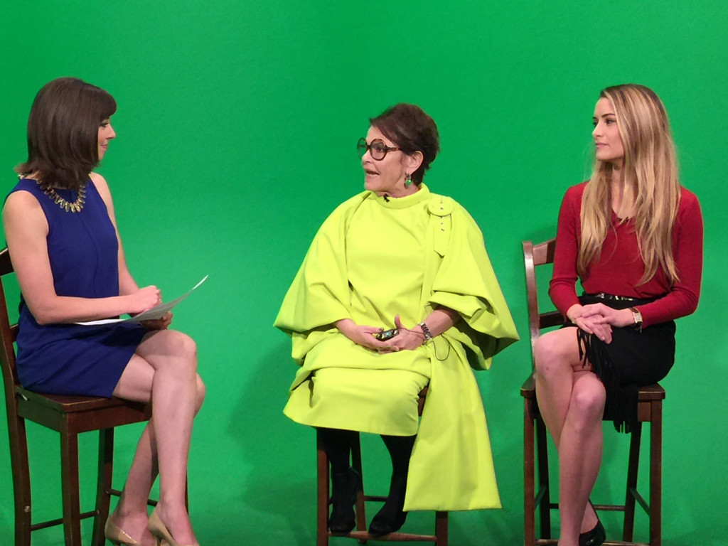 CW6 News interviews Bernice Steinbaum and director, Kristina Sorge